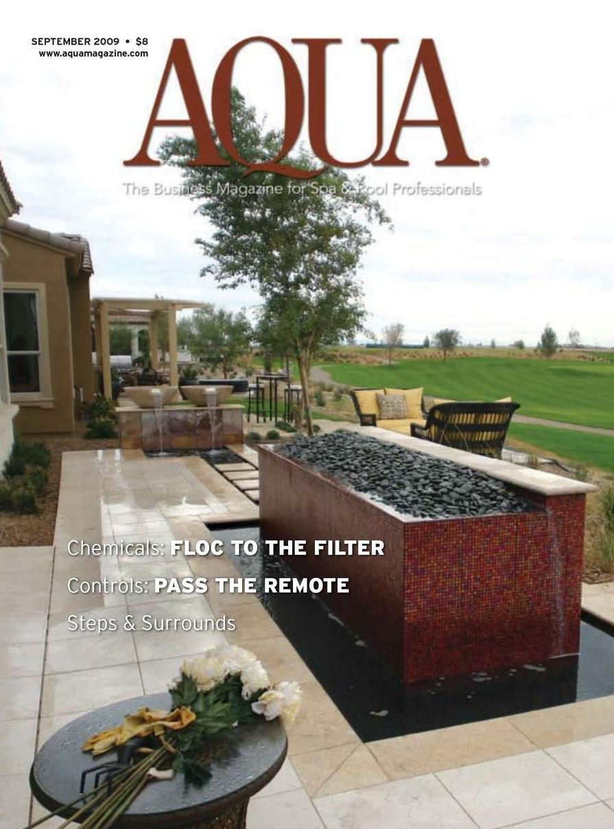 September Issue Of Aqua Magazine
