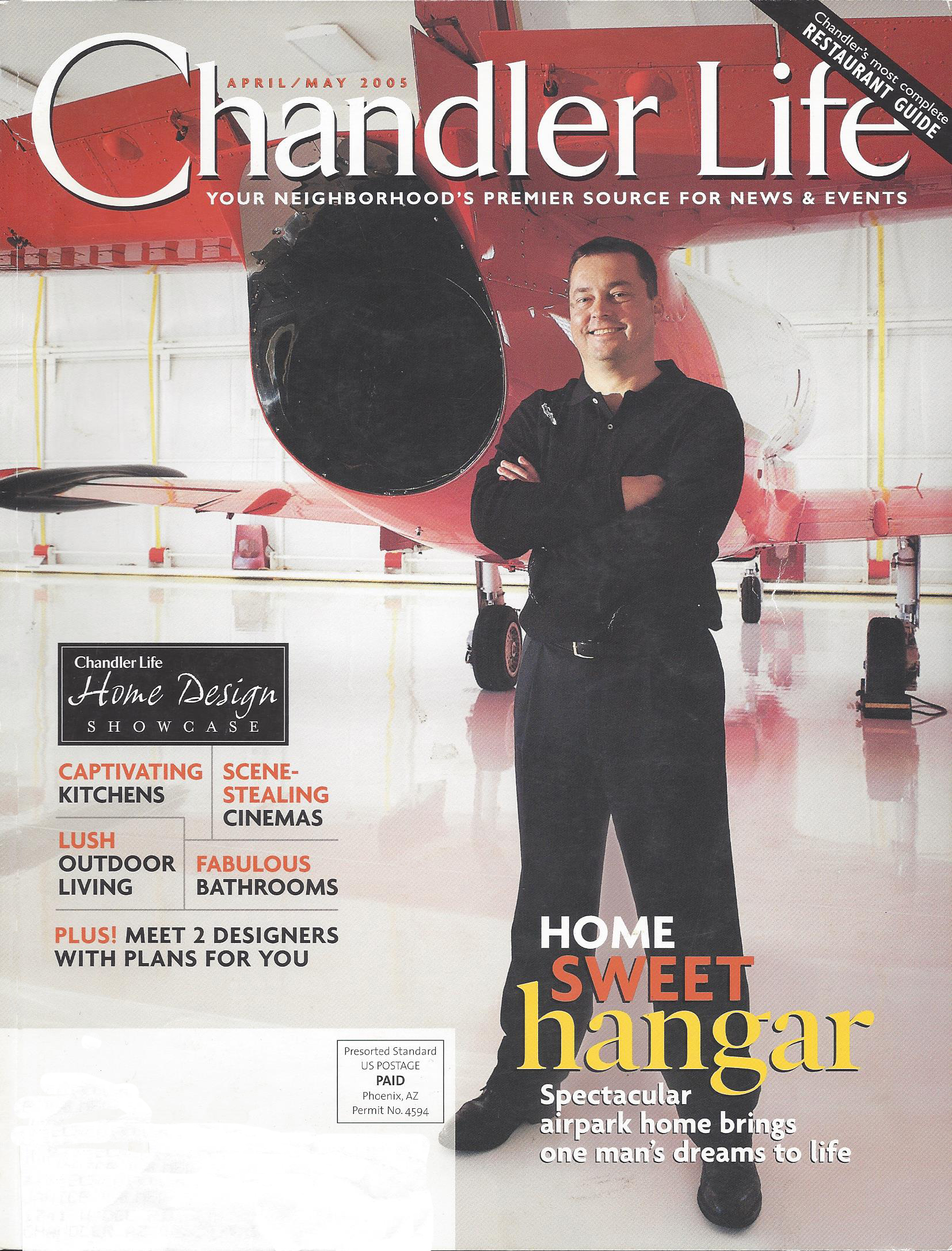 Chandler Life Magazine April & May 2005