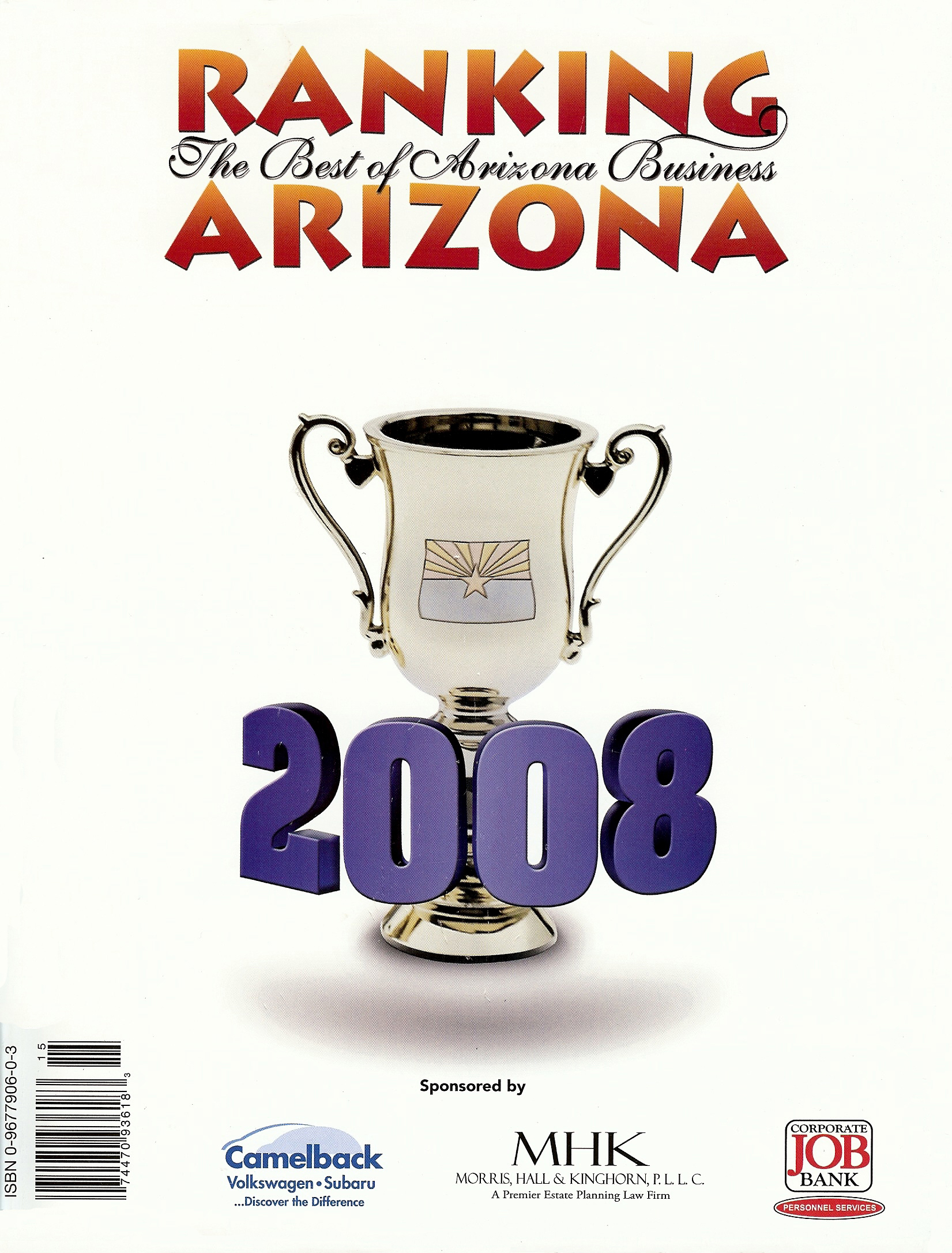 Ranking Arizona 2008